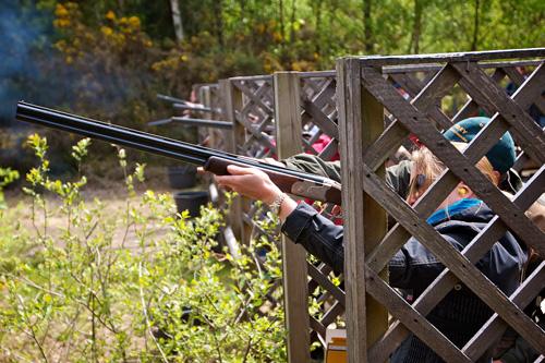 Ladies Day at Bisley Shooting Ground