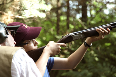 Bisley Shooting Ground Young Shots Lesson