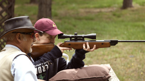 Bisley Shooting Ground Young Shots Air Gun