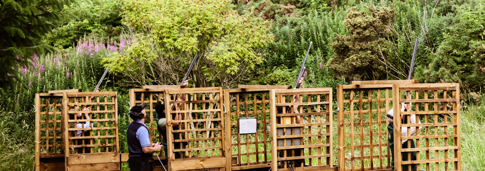 Clay Pigeon Shooting by Edinburgh