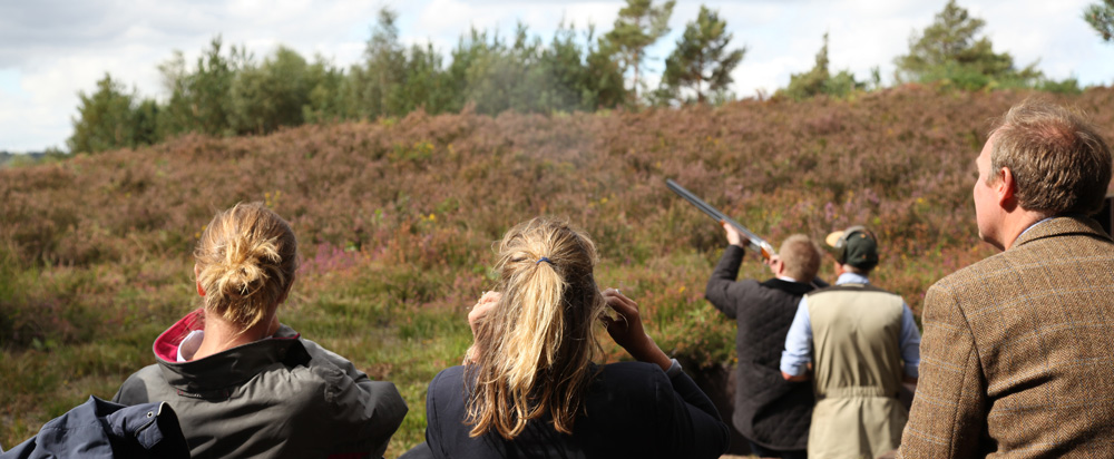 Clay Pigeon Shooting by London
