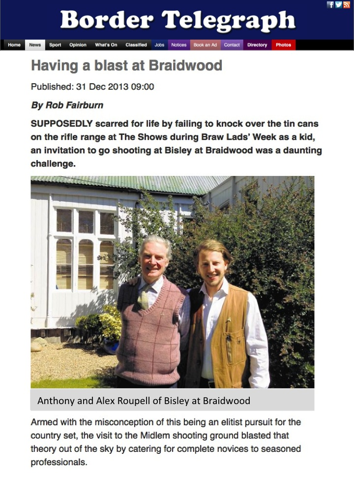 Bisley at Braidwood - Border Telegraph