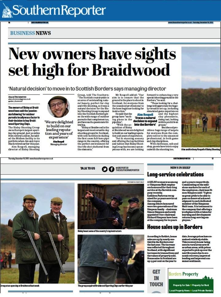 Bisley at Braidwood - Southern Reporter