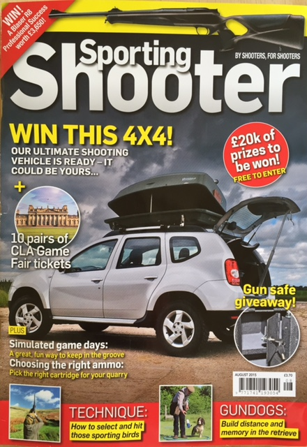 Sporting Shooter August 2015