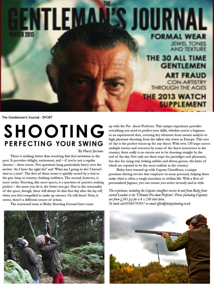 Gentlemans Journal - Bisley Shooting Ground