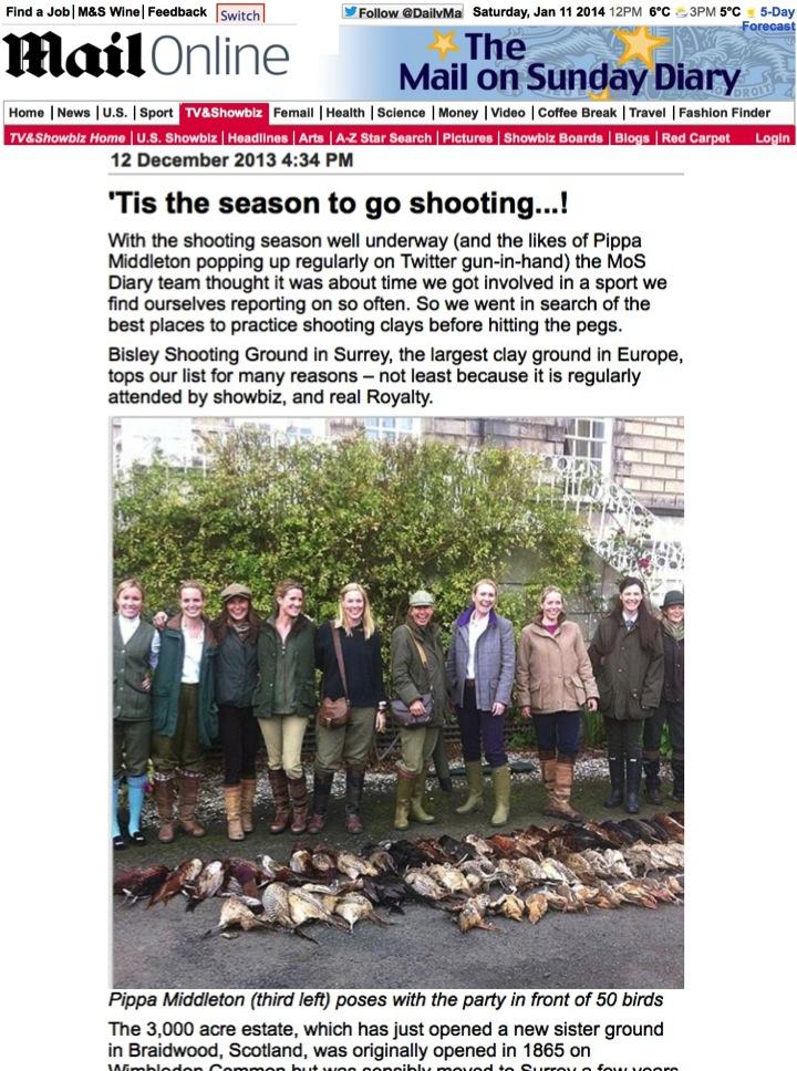 Mail Online Bisley Shooting Ground