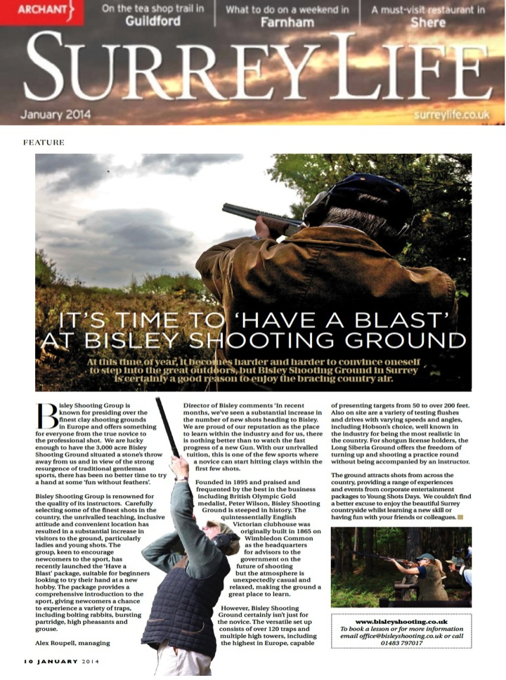 Have a Blast at Bisley Shooting Ground