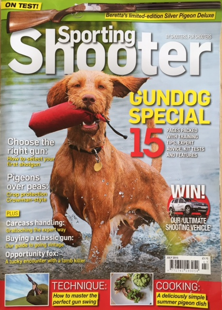 Bisley shooting Ground featured in Sporting Shooter Magazine