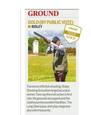 Shooting Awards 2020 Winner - Bisley ShootingGround